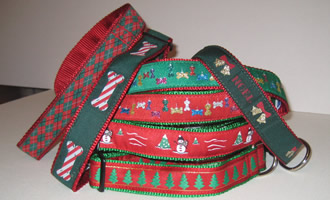 Assorted Christmas Collars