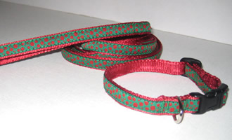 Christmas Dots Collars
