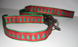 Christmas Trees Collars